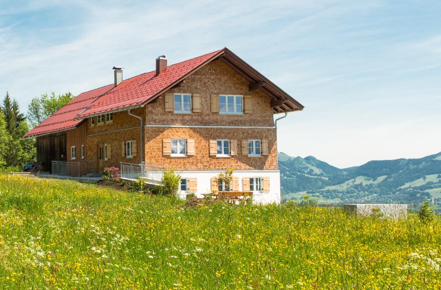 alpen chalet hageberg mieten sie f r ihren urlaub ein 4 sterne ferienhaus im allg u in. Black Bedroom Furniture Sets. Home Design Ideas